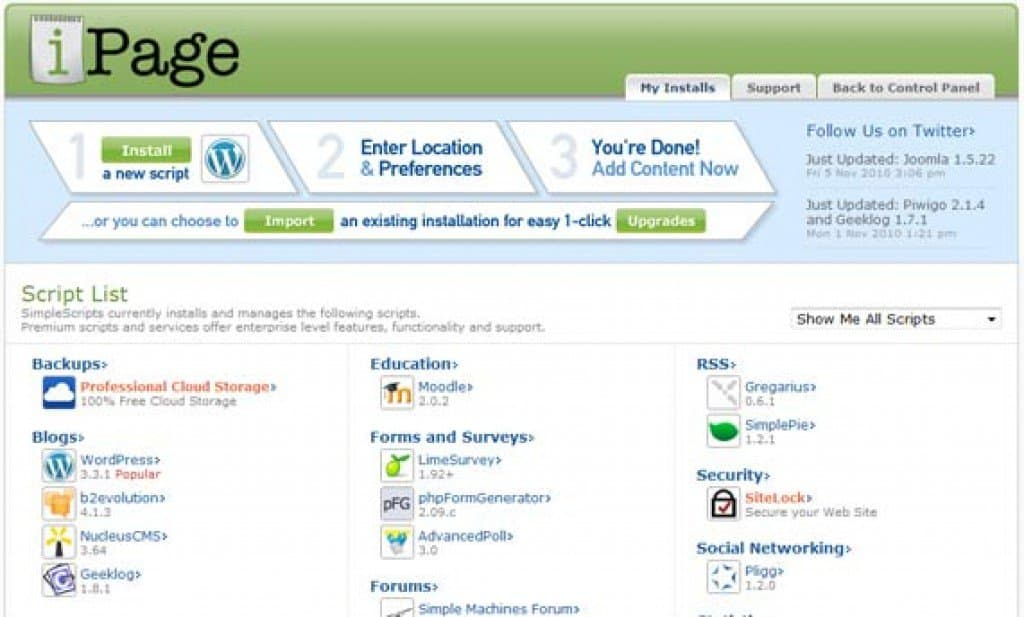 How To Set Up Your Site With Wordpress on iPage
